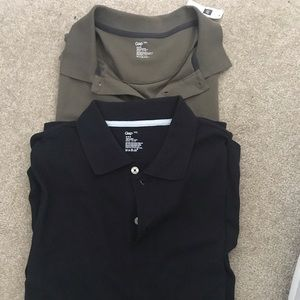 Two GAP men's polo bundle!